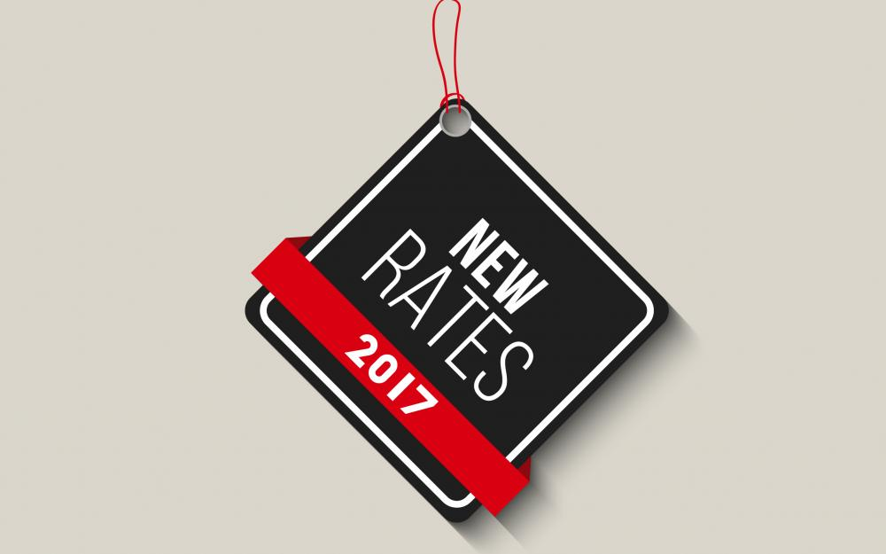 New rates 2017
